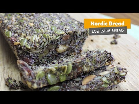 Nordic Seed and Nut bread | NORDIC STONE AGE BREAD | Low Carb Breads #5