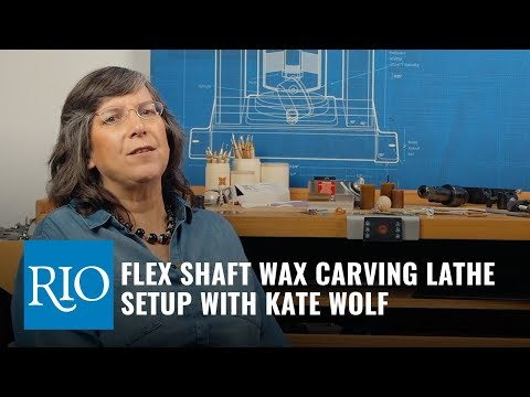 Flex Shaft Wax Carving, part 1: Lathe Set Up