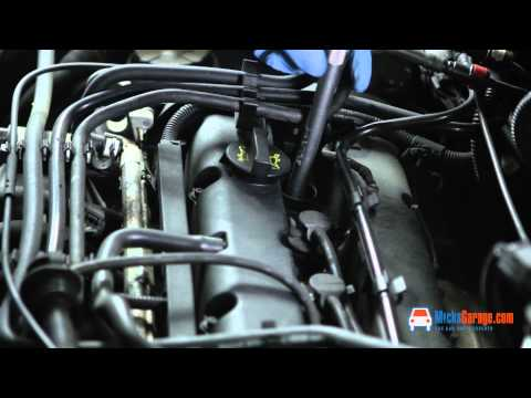 How To Change The Spark Plugs On A Ford Focus 1.4 Zetec 1998 - 2004