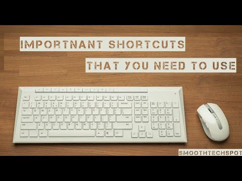 ►Top Keyboard Shortcuts For windows that is important to use 2017