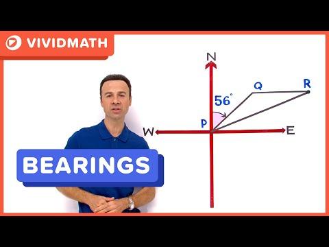 Maths Help Bearings Problem - VividMaths.com