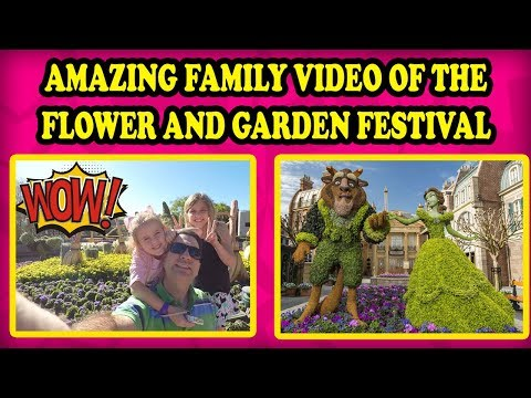 Wilderness Lodge! Flower and Garden Festival at Epcot Playground. Spaceship Earth and Le Cellier!