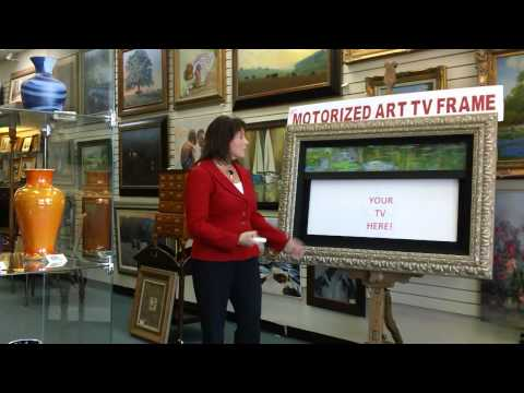 Motorized Art for your Framed TV - Frame That TV Texas