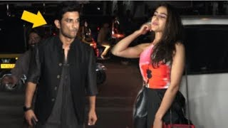 Sara Ali Khan IGNORES Rumored BOYFRIEND Sushant Singh Rajput In Front Of Media At An Event