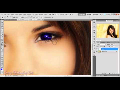 How to Change Eye Lens Color in Photoshop