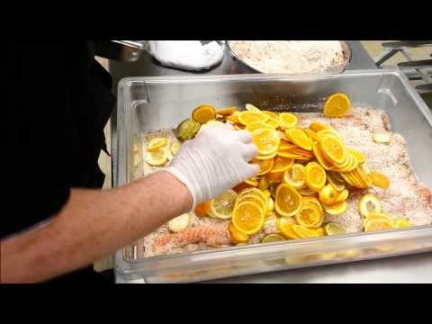 Smoked Citrus Vodka Salmon   Behind the Scenes with Classic Catering
