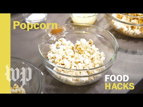 DIY microwave popcorn and toppings   Food Hacks from the Washington Post