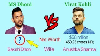 MS Dhoni Vs Virat Kohli Comparison