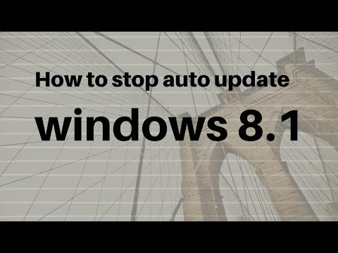 How to Disable/Turn Off Windows Automatic Updates on Windows 8 and 8.1
