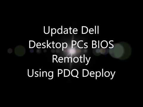 Update Dell PCs BIOS remotly