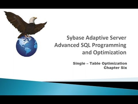 Sybase Indexing for Performance