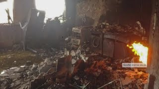 Grenfell Tower in London: Erste Bilder aus dem Inneren zeigen Ausmaß der Zerstörung