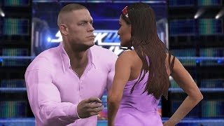 WWE 2K17 Story - John Cena & Brie Bella