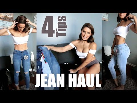 Jean Haul Try On + Plus 4 Tips to buying the Best Fit Jeans