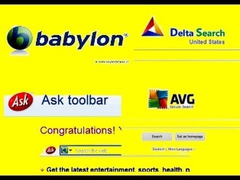 Jak usunąć ASK, Delta search, AVG, Babylon z Firefox