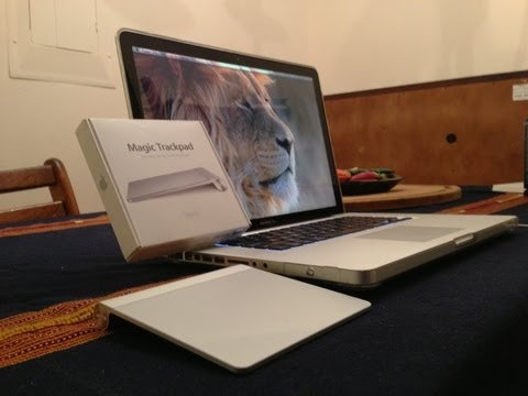 How To Connect Magic Trackpad