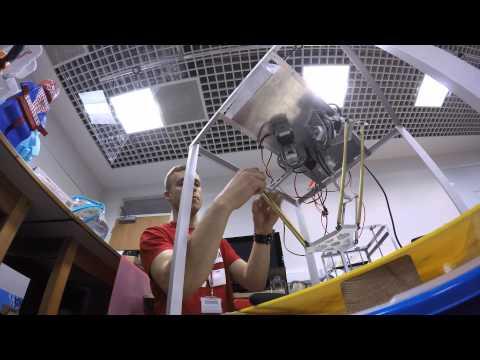 Delta robot assembly
