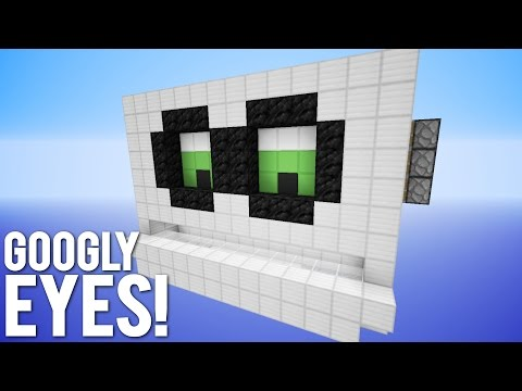 Minecraft: Player Tracking Googly Eyes