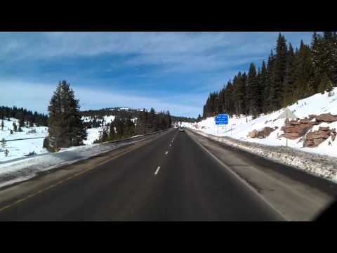Near Vail and Copper Mountain on Interstate 70 West in Colorado