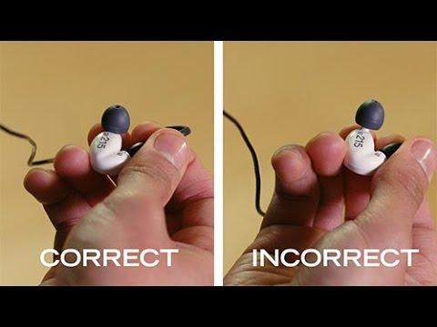 How to Change Shure Earphone Sleeves