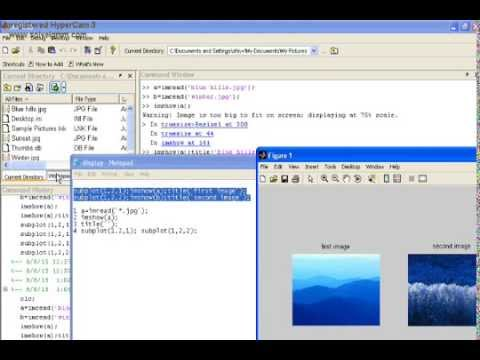 HOW TO IMPORT IMAGE FILE IN MATLAB AND DISPLAY THE IMAGE IN MATLAB.