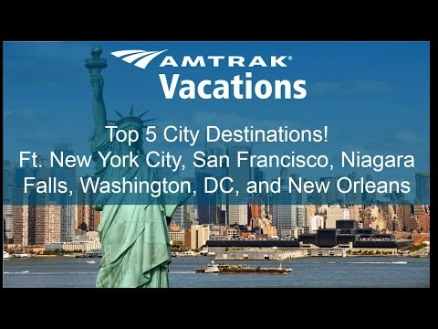Top 5 City Destinations feat. New York, San Francisco and more (4.12.17)