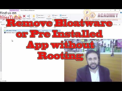 How to Remove Bloatware or Pre Installed App From Android without Root