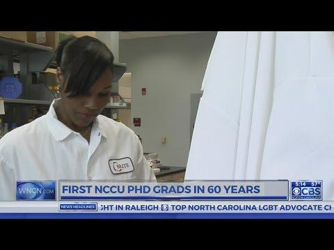 3 women earn NCCU's first PhD's in nearly 60 years