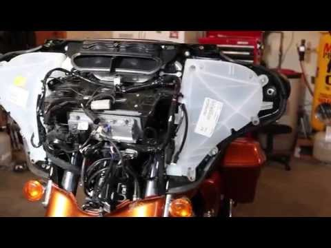 Remove 2014 Harley Davidson Front Fairing Touring | Biker Motorcycle Podcast
