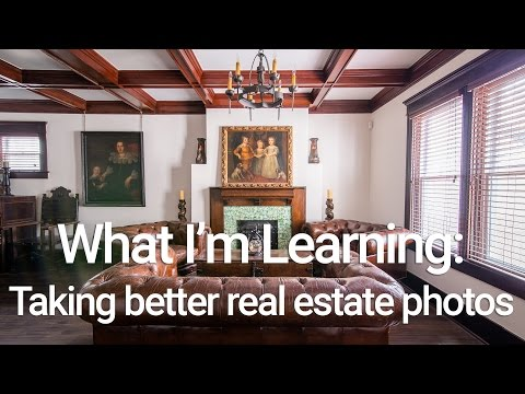 Learning to Take Pictures of Houses and Real Estate