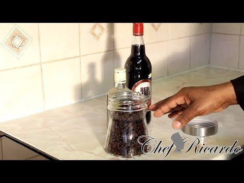 How To Sock Your Fruits For Two Months (Jamaica Rum Fruits Cake) | Recipes By Chef Ricardo