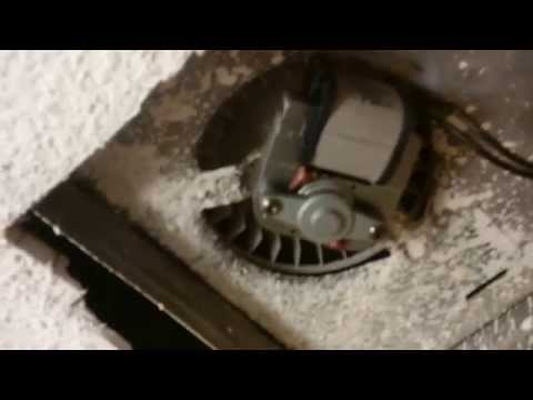 HOW TO REPLACE A BATHROOM FAN MOTOR
