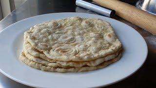 Lebanese Mountain Bread - How to Make Lebanese-Style Flatbread