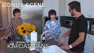 KUWTK | Scott Disick Has Burning Questions About Kris and MJ