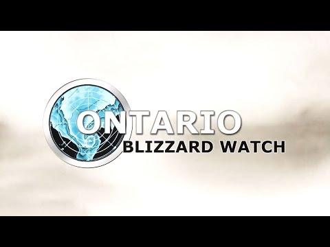 Ontario Blizzard Watch - Update #10 - Nov 24, 2014 - Damaging Wind and Low Tornado Risk