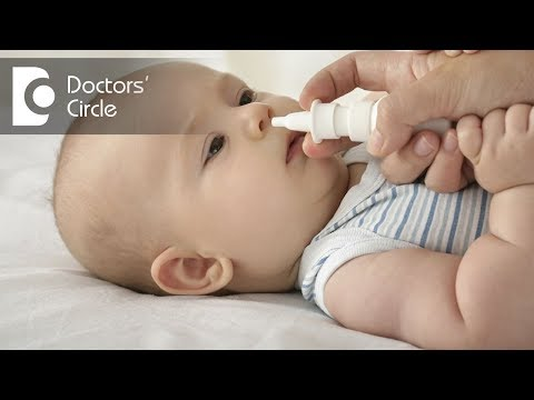 Is it safe to use nasal drops in infants? - Dr. G R Subhash K Reddy
