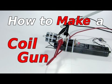 How to Make a Coil Gun using a Fly Swatter
