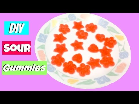 DIY Sour Gummies
