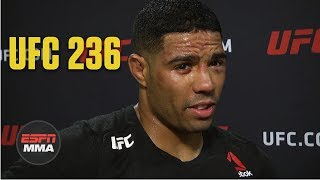 Max Griffin's beef with Zelim Imadaev escalated with police getting involved | UFC 236 | ESPN MMA