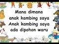 ANAK KAMBING SAYA (LIRIK) - Lagu Anak - Cipt. .......... - Musik Pompi S.
