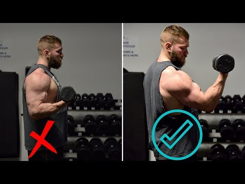 HOW To Properly Train BICEPS For A BIGGER Bench Press