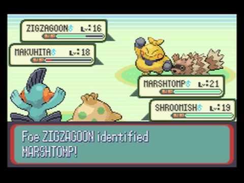 Pokemon Sapphire - Part 11 - HM for Strength and Some Random Battles