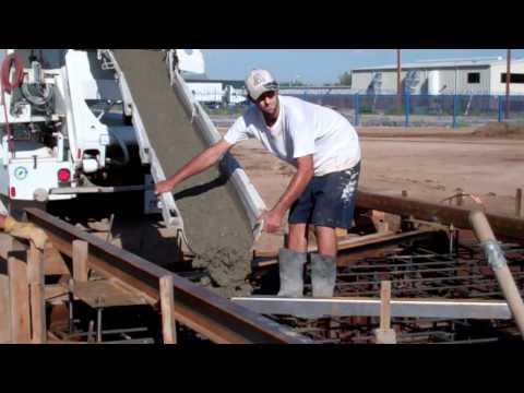 KMT - Telescope Pier Concrete Pour