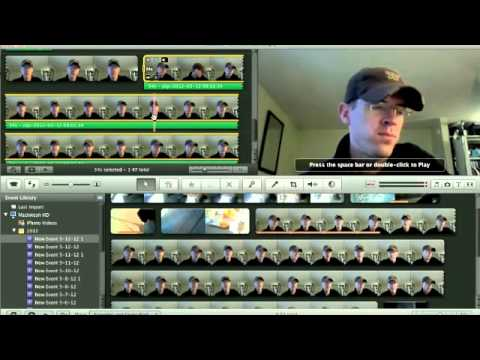 How to Overlay Video/ Extract Audio in imovie 08'