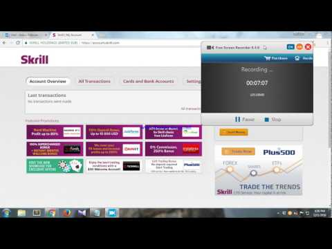 How to verify skrill account & reset password