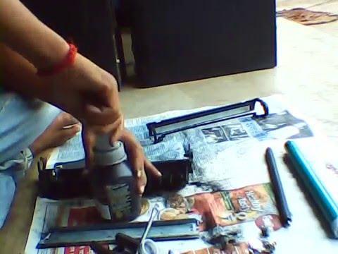 hp 12A toner refill and  repair