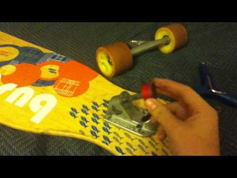 How to change your longboard bushings or flip the hanger