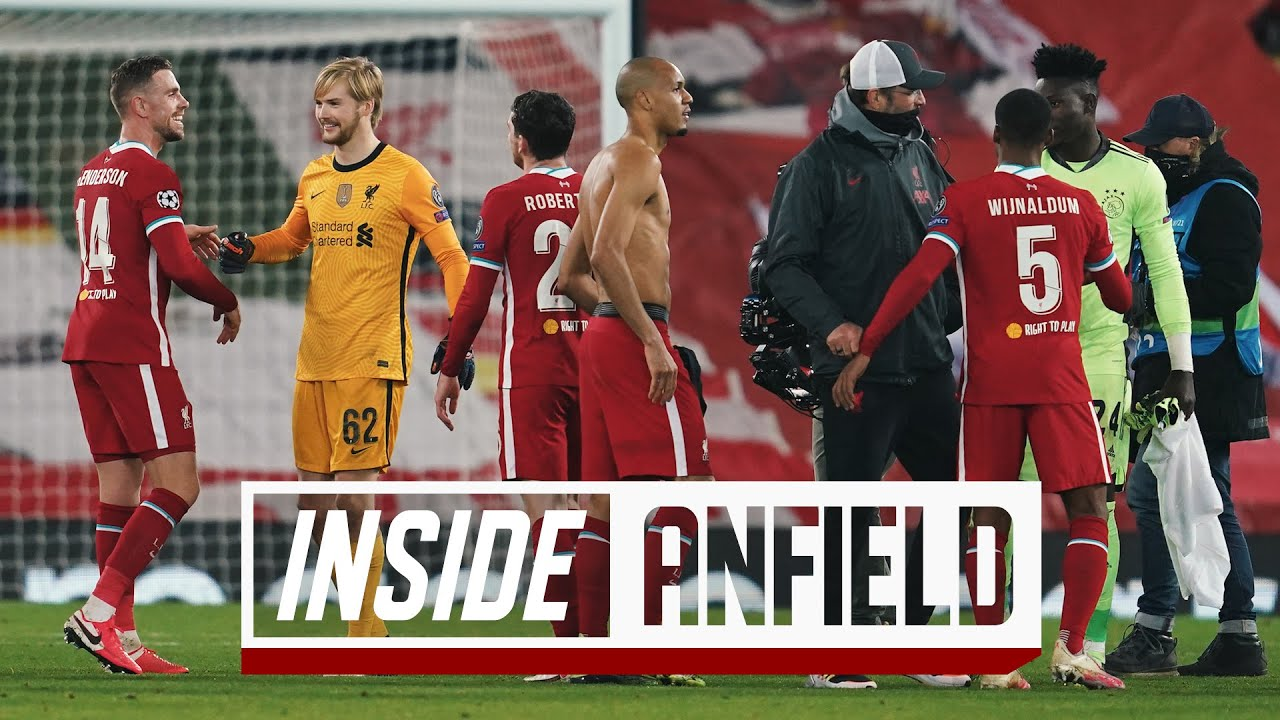 Inside Anfield: Liverpool 1-0 Ajax | Youngsters shine as Reds secure qualification
