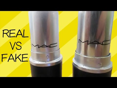 Fake MAC Lipstick VS Real Ones! | Aminachebbi