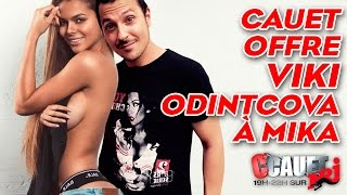 Cauet offre Viki Odintcova à Mika - C'Cauet sur NRJ